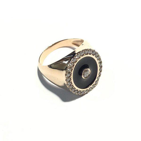 انگشتر جواهر مردانه