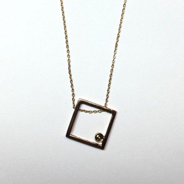 مدال طلا هندسی